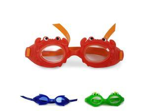 Swimtastic Kids Swimming Goggles - Comfortable & Fun Character Goggles for Boys & Girls