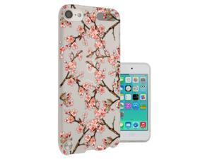 Apple ipod Touch 6 Gel Silicone Case All Edges Protection Cover C0557 - Eastern Art Water Colour Flowers