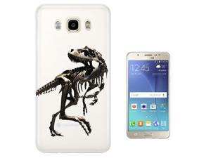 Samsung Galaxy J7 (2016) J710FN Gel Silicone Case protection Cover C0748 - Scary T-Rex Tyrannosaurus Bones Fossil