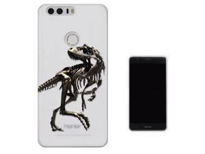Huawei Honor 8 Gel Silicone Case protection Cover C0748 - Scary T-Rex Tyrannosaurus Bones Fossil