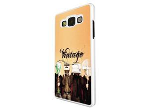 Samsung Galaxy Grand Prime Coque Fashion Trend Case Coque Protection Cover plastique et métal - White 1556 - Trendy tv head radio head music vintage retro clothing fashion