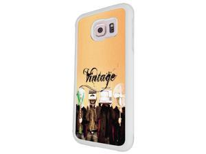 Samsung Galaxy Alpha Coque Fashion Trend Case Coque Protection Cover plastique et métal - White 1556 - Trendy tv head radio head music vintage retro clothing fashion