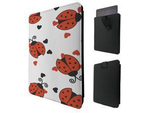 "ipad pro 12.9"" / Macbook Air 11 / Macbook retina 12 Quality Pouch portefeuille Poche Coque  Case - Tab sortie646 - Cool Multi Ladybug"