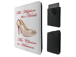 """ipad pro 12.9"""" / Macbook Air 11 / Macbook retina 12 Quality Pouch portefeuille Poche Coque  Case - Tab sortieC0298 - Cool Shoes Heels Stilettos Quote Shopping Bloggers Love Illustration Trend"""