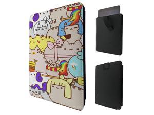 """ipad pro 12.9"""" / Macbook Air 11 / Macbook retina 12 Quality Pouch portefeuille Poche Coque  Case - Tab sortie1004 - Cool Kittens Cat Naughty Pets Cartoon Illustration Feline Love"""