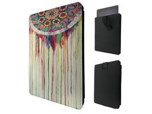 """ipad pro 12.9"""" / Macbook Air 11 / Macbook retina 12 Quality Pouch portefeuille Poche Coque  Case - Tab sortie598 - Watercolour Dream Catcher Eastern Lucky Charm Cool"""