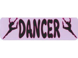 "10""x3"" Dancer Vinyl Bumper magnet Decal Car magnetic Decals Truck magnets"