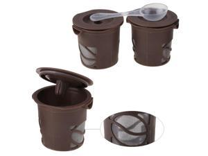 K-Cup Reusable Coffee Filters for Keurig! 3Pack! Clever Coffee Capsules Nice