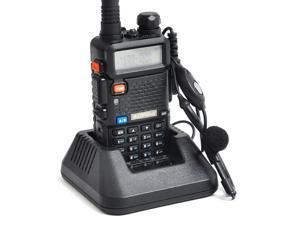 BaoFeng UV-5R Dual Band VHF 136-174MHz / UHF 400-480MHz 5W 128CH Walkie Talkie Two Way Radio with 1800mAH Battery