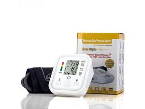 Fully Automatic Upper Arm Digital Blood Pressure monitor Pulse Monitor