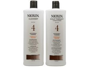 Nioxin Scalp Therapy System 4 Cleanser & Scalp Therapy Duo Set 33.8oz