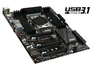 MSI X99A Raider LGA 2011-v3 Intel X99 SATA 6Gb/s USB 3.1 USB 3.0 ATX Intel Motherboard