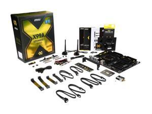 MSI X99A XPOWER AC LGA 2011-v3 Intel X99 SATA 6Gb/s USB 3.1 USB 3.0 Extended ATX Intel Motherboard