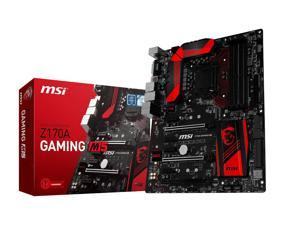 Refurbished: MSI Gaming Z170A GAMING M5 LGA 1151 Intel Z170 HDMI SATA 6Gb/s USB 3.1 ATX Intel Motherboard
