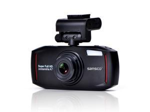 "SANSCO 2K Extreme HD 1296P 2304x1296 Car Dash Cam, 2.7"" Screen In-Car Dashboard Camera with G-Sensor And Emergency ..."