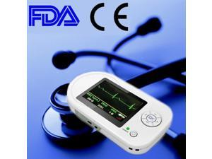 CONTEC CMS-VESD Visual Digital Stethoscope ECG SPO2 PR Electronic Diagnostic USB Electronic Clinical Stethoscope SPO2 Probe Portable ECG Monitor Handheld Electronic Stethoscope Pulse Heart Rate