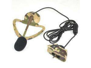 TRIXES Camo Headset Mic Earpiece Wire to Controller for XBOX 360 Console