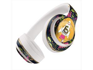 I Love You To The Moon and Back Navy Pink and Green Skin for Apple Beats By Dre Studio 2013+ Models