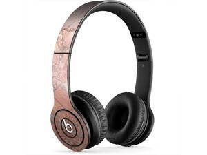 Pale Pink Cracked Concrete Skin for Apple Beats By Dre Studio Original Headphones