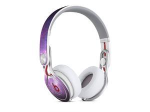 Purple and Pink Galaxy Amalgamation Skin for Apple Beats By Dre Mixr Headphones