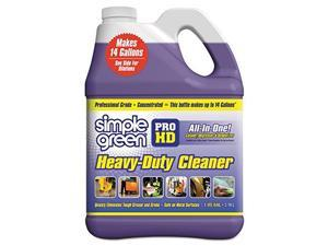 Simple Green 2110000413421 Contractor Strength Non-Corrosive Heavy Duty Cleaner Degreaser in 1 gal Bottles (Pack of 4)