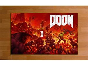 "DM16M DOOM video Game Poster High-quality Posters Prints (20"" * 32"") inches"