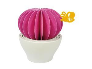 HSI Non-Electric Natural Personal Humidifier Vaporizer, Eco-Friendly, Smart Gift, Piozio, Cactus Hot Pink