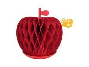 HSI Non-Electric Natural Personal Humidifier Vaporizer, Eco-Friendly, Smart Gift, Piozio, Apple Red