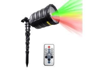 IMAXPLUS Garden Flashing Laser Light Projector Waterproof Star Laser Show With IR wireless Remote Control For Festive ...