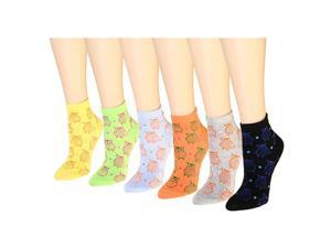 12 Pairs Women's Socks Assorted Colors Size 9-11 Owl