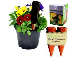 Planted Perfect Vacation Watering - 4 Plant Watering Spikes Water Plants and Flowers - Recycled Wine Bottle Watering System - Safer Packaging - Satisfaction Guarantee!