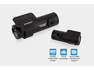 BlackVue DR650S-2CH 1080p Dual-Lens WiFi GPS Dashcam for Front and Rear includes 16GB Memory Card