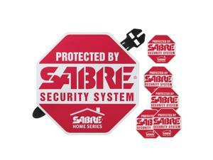 Sabre Yard Sign & Security Decals