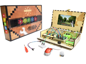 Piper Computer Kit: build a computer using a RaspberryPi, play custom Minecraft Pi Edition games and build lights, switches, sensors, buzzers and more to power up the game!