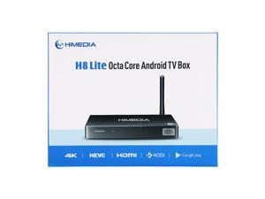 HIMEDIA H8 Lite Octa-Core Chips 64Bit CPU Android 5.1 TV Box, 1GB RAM 8GB ROM 3D BD-ISO 4K UHD Set-Top Box with Aluminum Shell (ship from Canada)