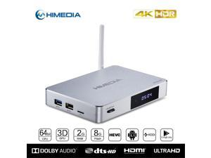 Himedia Q5 Pro Android 5.1 4K TV BOX Kodi Set Top Box Ultra HD Network Streaming Media Player 2G/8G DualBand 5g Wifi Bluetooth 4.0 Dulby 7.1 tvbox + High-end English Firmware Support(ship from Canada)