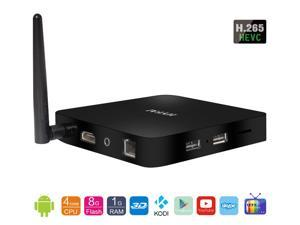 Hyfai QS4 S805 Quad Core Android 4.4 3D H.265 TV Box 1GB RAM 8GB ROM  3D BD-ISO 4K UHD Set-Top Box  with Kodi IPTV STB Emulator Supported