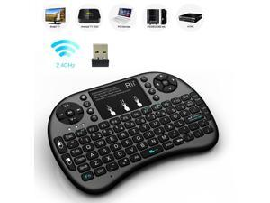 Rii i8+ Wireless 2.4G Mini Keyboard Touchpad for PC Pad Andriod TV Box PS3 HTPC/IPTV Notebook Smart TV