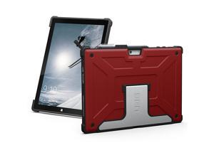 UAG Microsoft Surface Pro 4 Feather-Light Rugged [MAGMA] Aluminum Stand Military Drop Tested Case