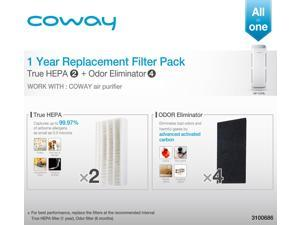 Coway Replacement Filter Pack for AP-1216L