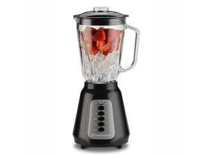 Toastmaster TM-550BL 500 Watt Glass Jar Blender, Black