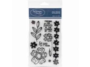 Technique Tuesday GARDE Clear Stamp, 4 x 6 in. - Garden of Life