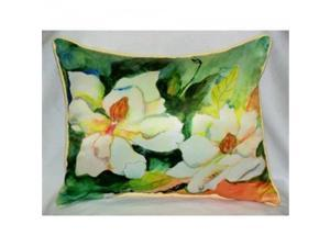 Betsy Drake ZP251 Magnolia Throw Pillow, 20 x 24 in.