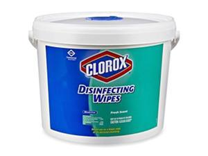 Disinfecting Wipes, 7 x 7, Fresh Scent, 700/Bucket CLO31547