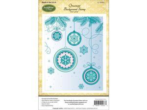 Joseph Abboud 8991 Papercraft Cling Background Stamp 4.5''X5.75''-Ornament