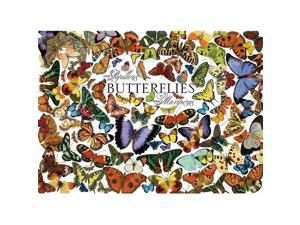 Outset Media Games OM51761 Butterflies- 1000 Piece Puzzle