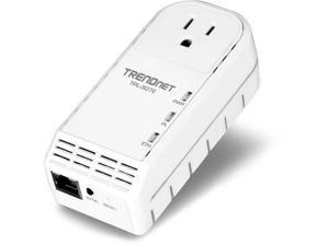 TRENDnet RB-TPL-307E 200Mbps Powerline AV Adapter with Bonus Outlet