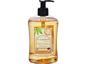 A La Maison 1306034 French Liquid Soap, 16.9 oz - Coconut