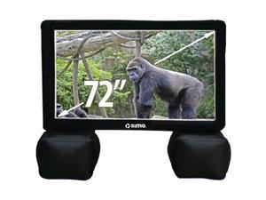 Sima Sssxl72 Sima 72&Quot&#59; Indoor And Outdoor Inflatable Screen