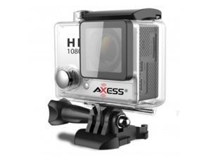 Axess CS3604-SL Full HD 1080p Waterproof Action Camera, Silver